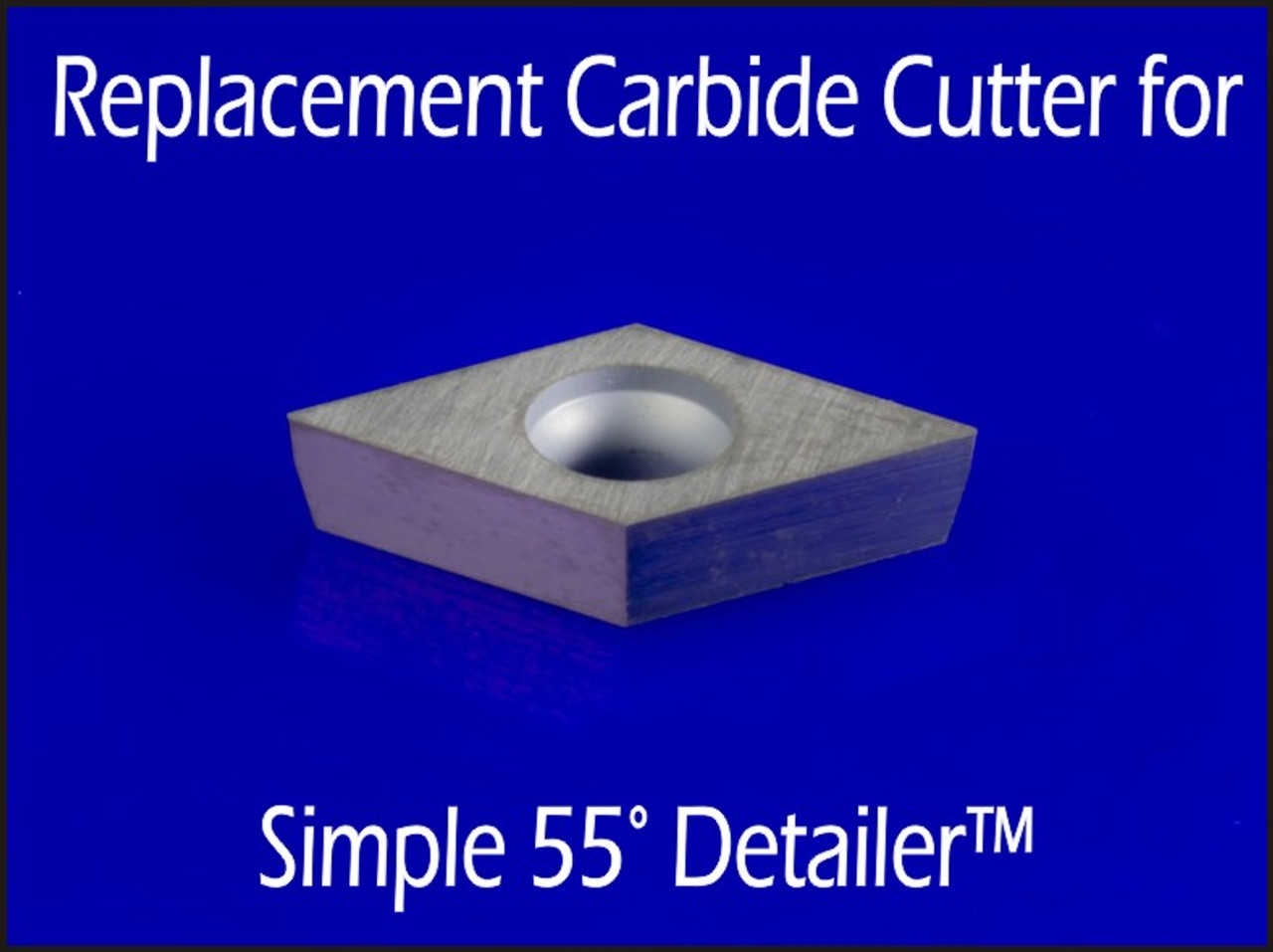 Fits both the full and mid size Simple 55 Degree Detailer.
