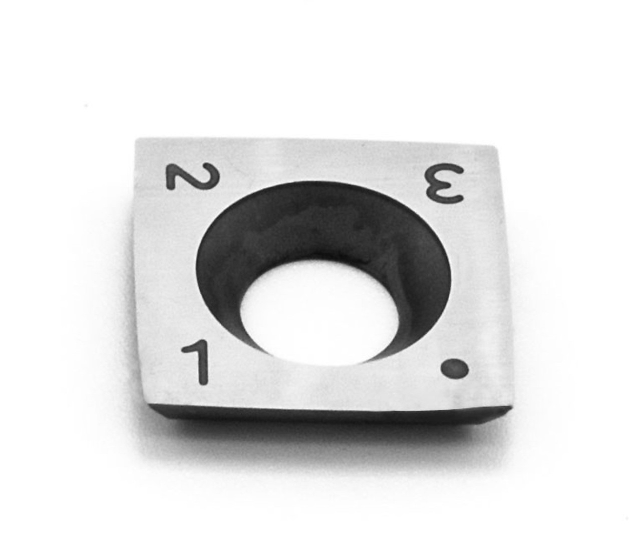 "4"" radius replacement cutter for Simple Rougher. Cutter features radius sides and square corners."