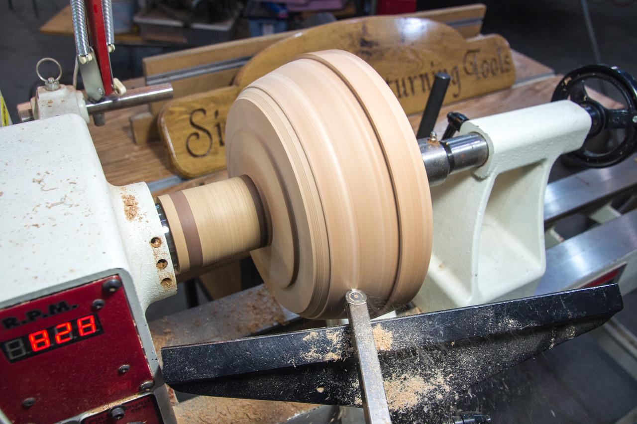 Simple Turner & Hollower Carbide Wood Lathe Turning Tool, Full Size