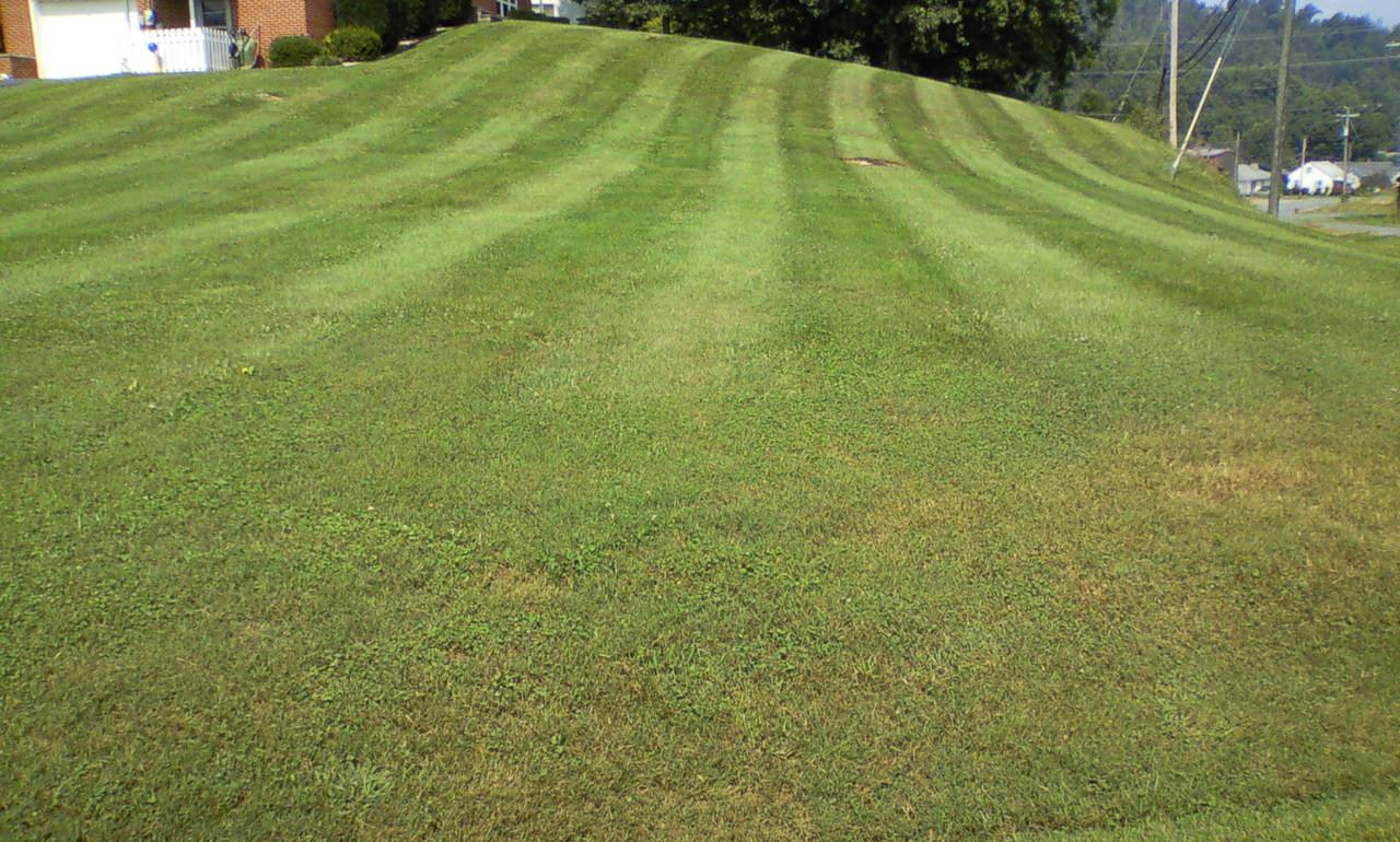 lawn striper.