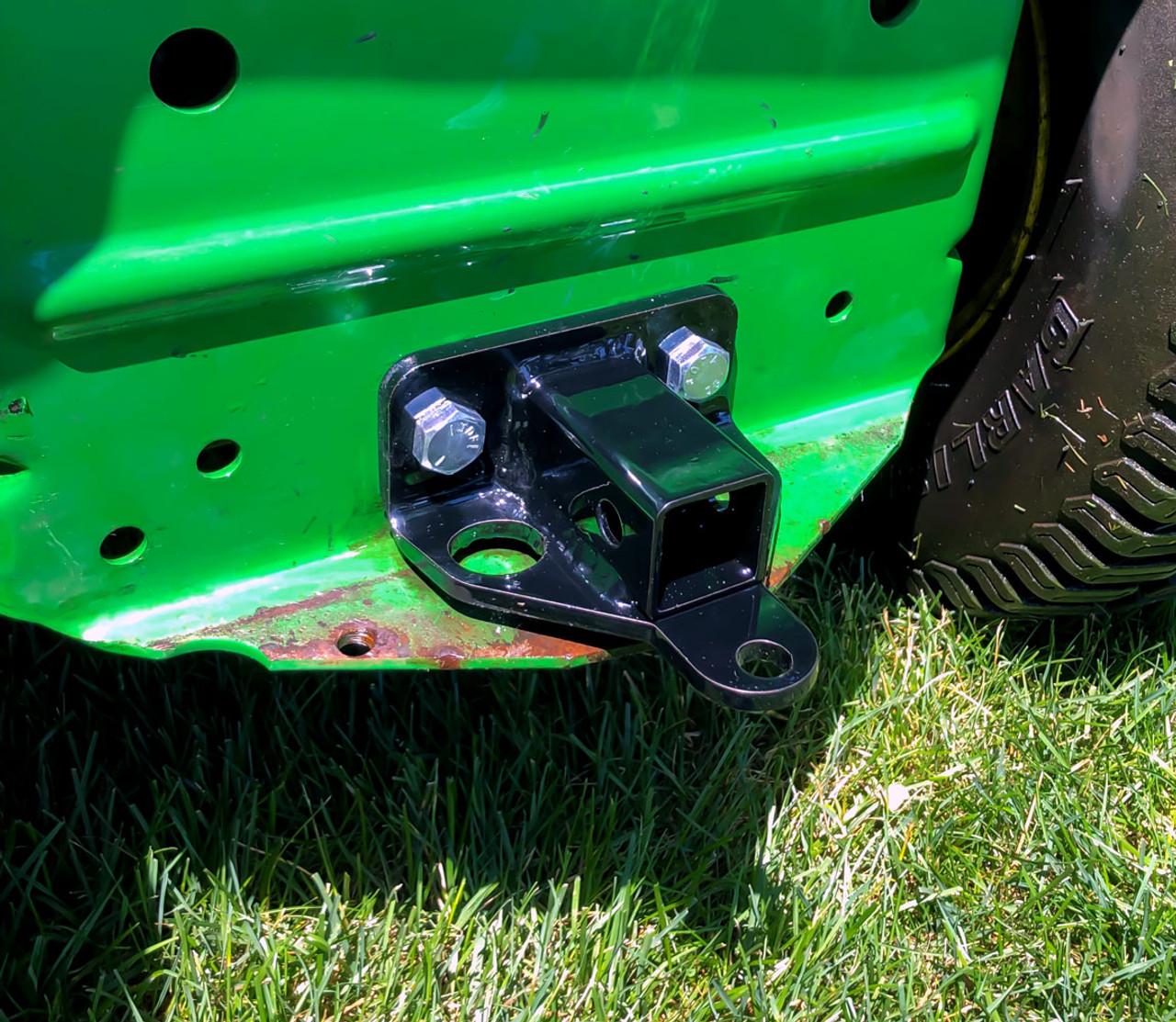 John Deere ZTR Hitch 1¼ inch receiver lawn mower trailer hitches