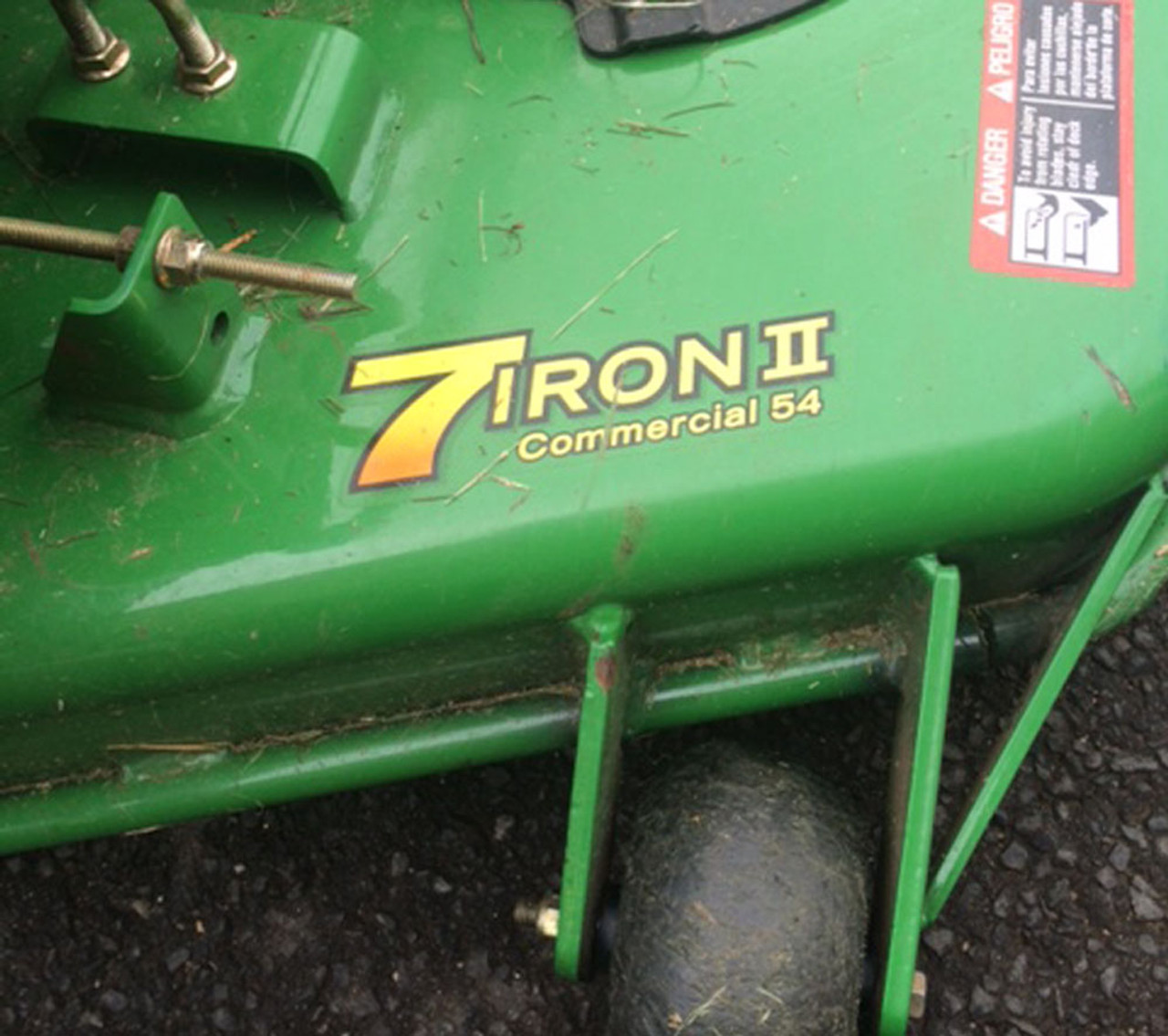 "Lawn Roller Striping Kit For 2006 John Deere 727A Z-Trak with 54"" 7 Iron deck"
