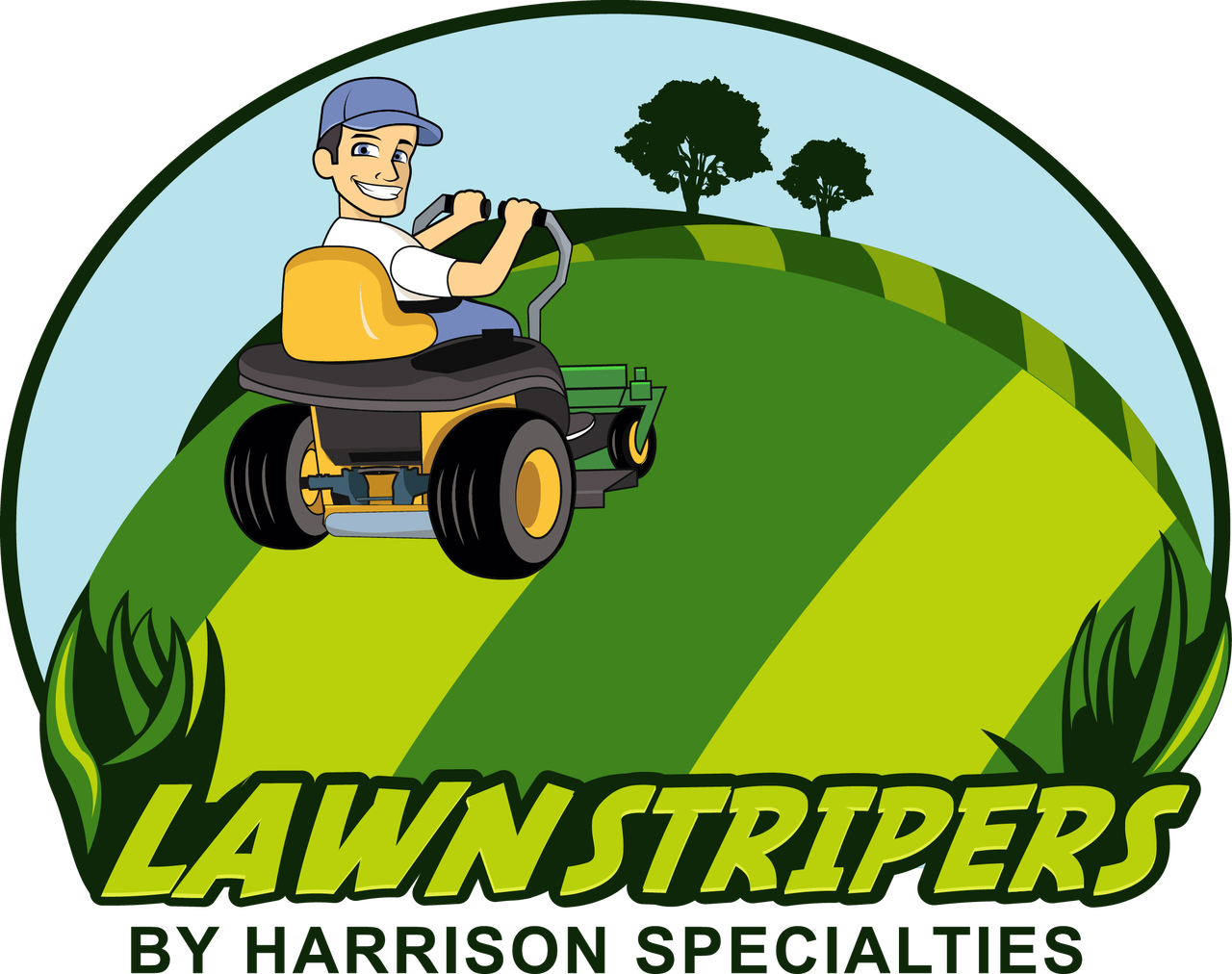 """Lawn Striping Kit for 2010 John Deere 950A with 60"""" 7 Iron deck & 2012 930A with 60"""" 7-iron MOD deck"""