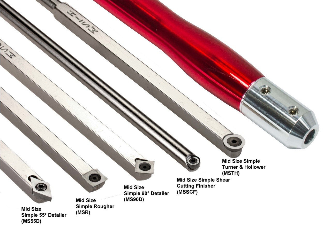 Simple Woodturning Tools are made in the USA by Harrison Specialties.