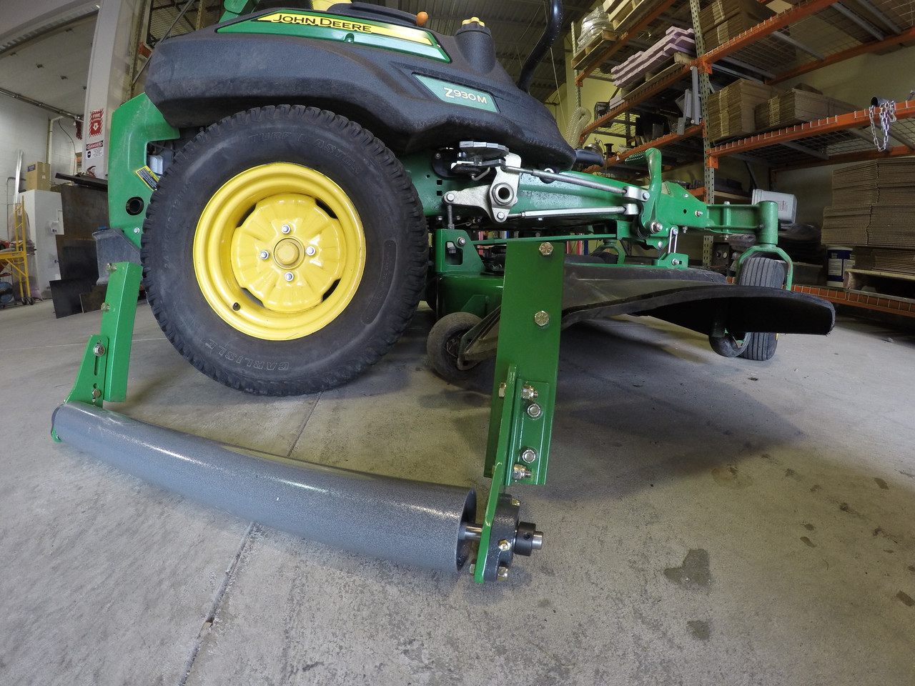 "Lawn Striping Kit for 2016 John Deere 915B with 60"" 7 Iron deck, Tires or Tweels"