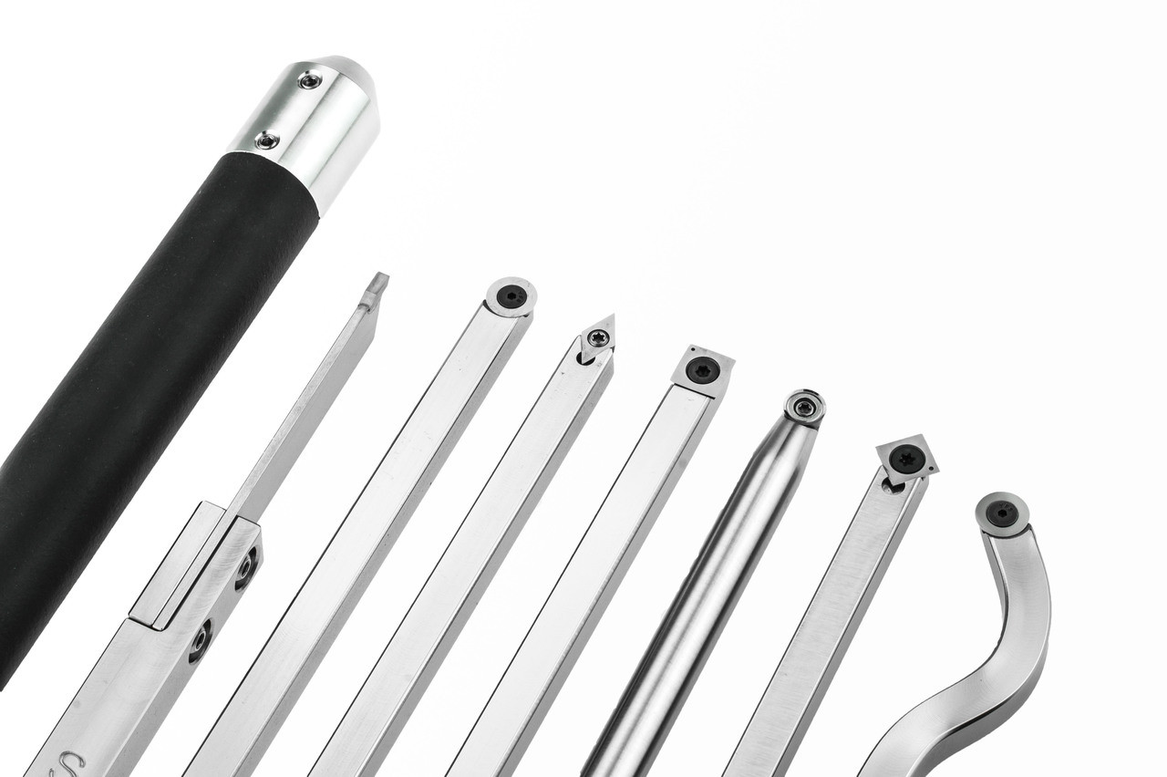 Carbide Woodturning Tool Pack of 7 lathe tools