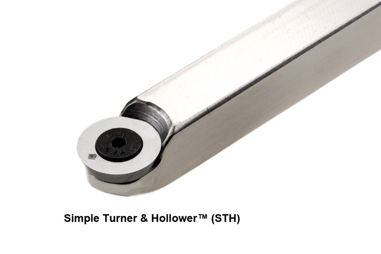 Simple Turner and Hollower Carbide Woodturning Tool.