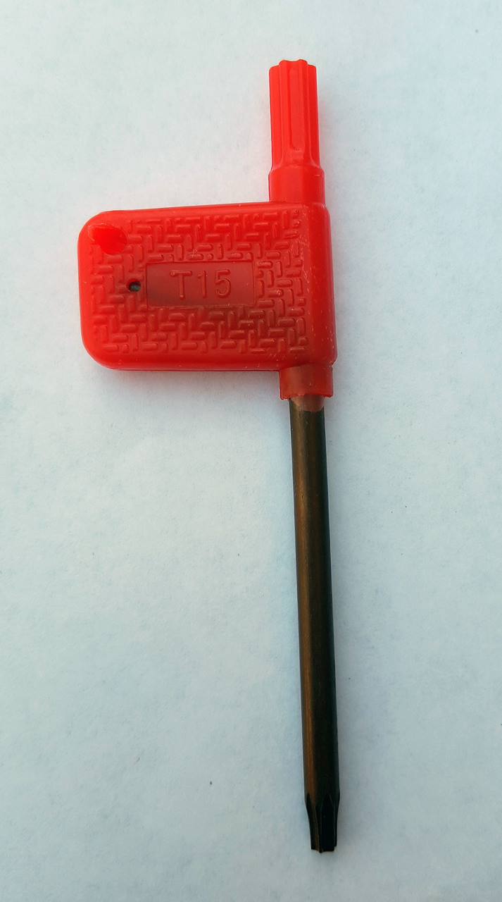T15 Torx Star Tip Wrench
