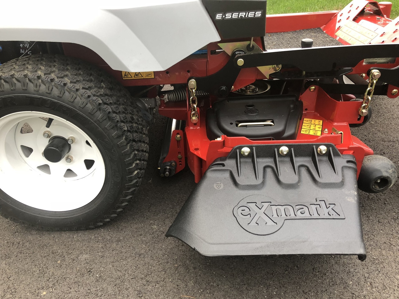 eXmark Radius lawn striping kit