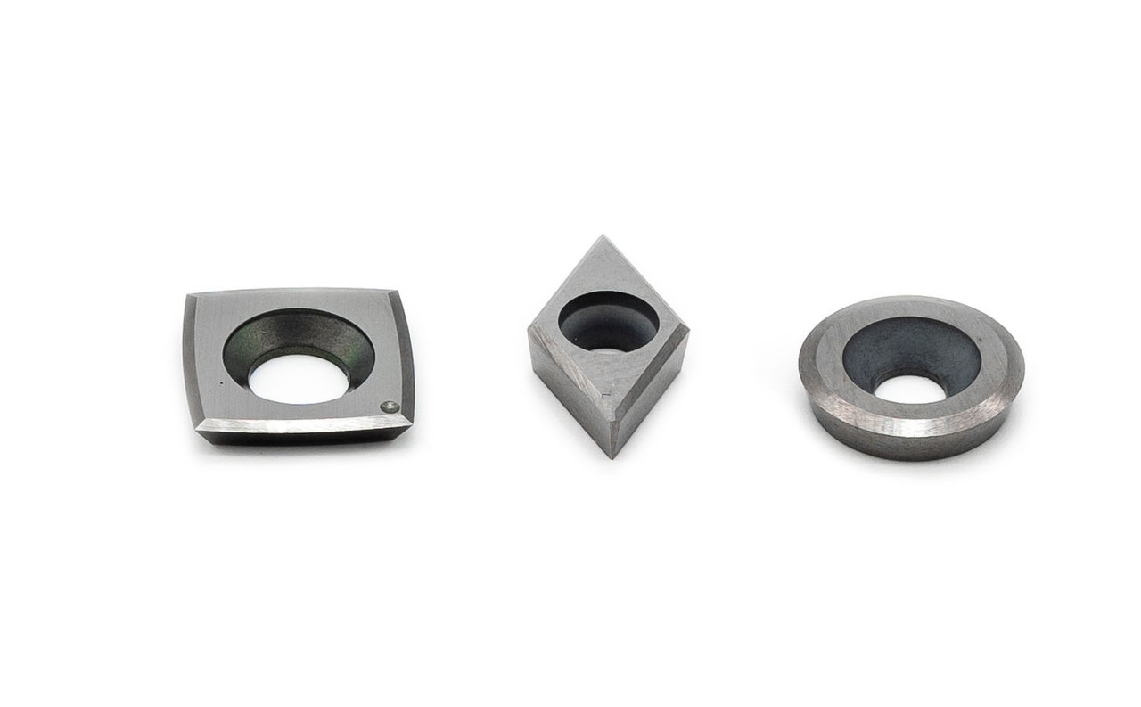 Acrylic/Resin Turning Replacement Carbide Cutter Pack of 3 (Includes cutter for STH - Full Size Only)