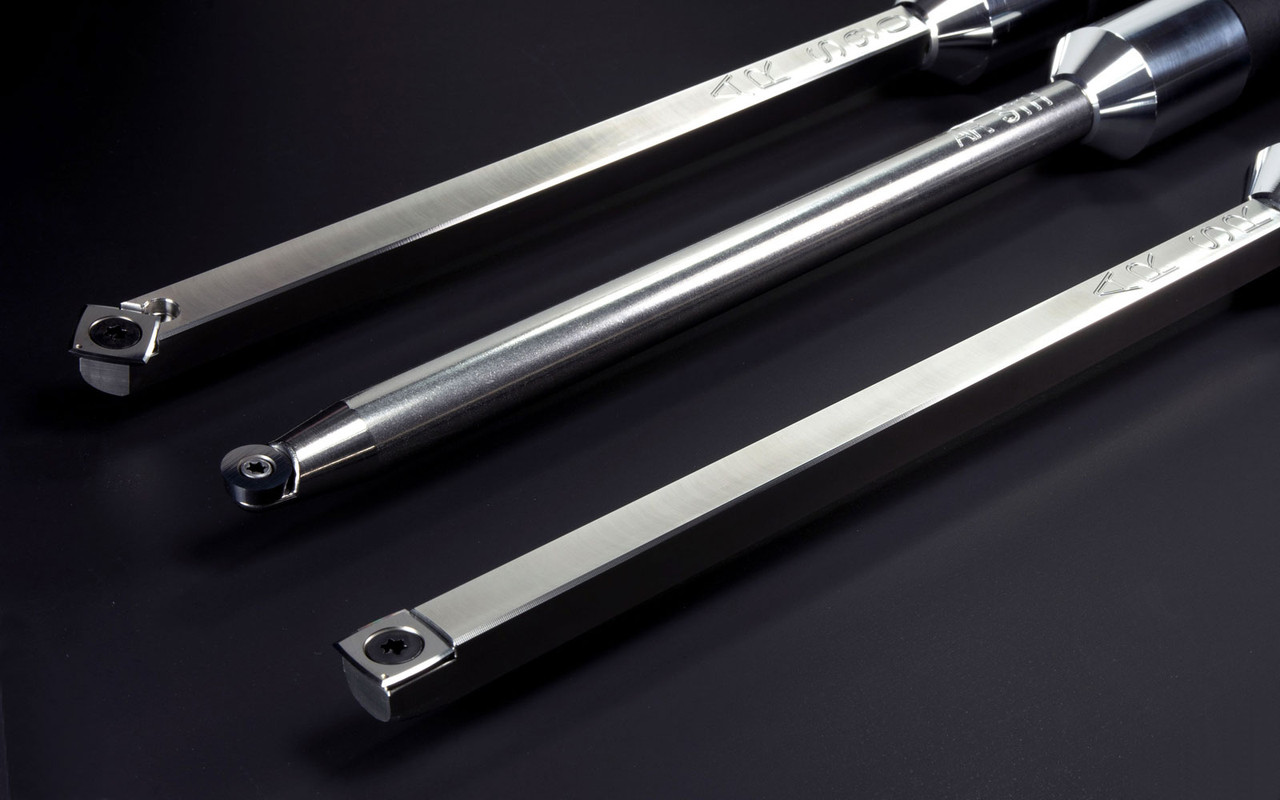 """Acrylic/Resin Package of 3 Carbide Turning Tools - Full-Size (12"""" Tools with 17"""" Handles)"""