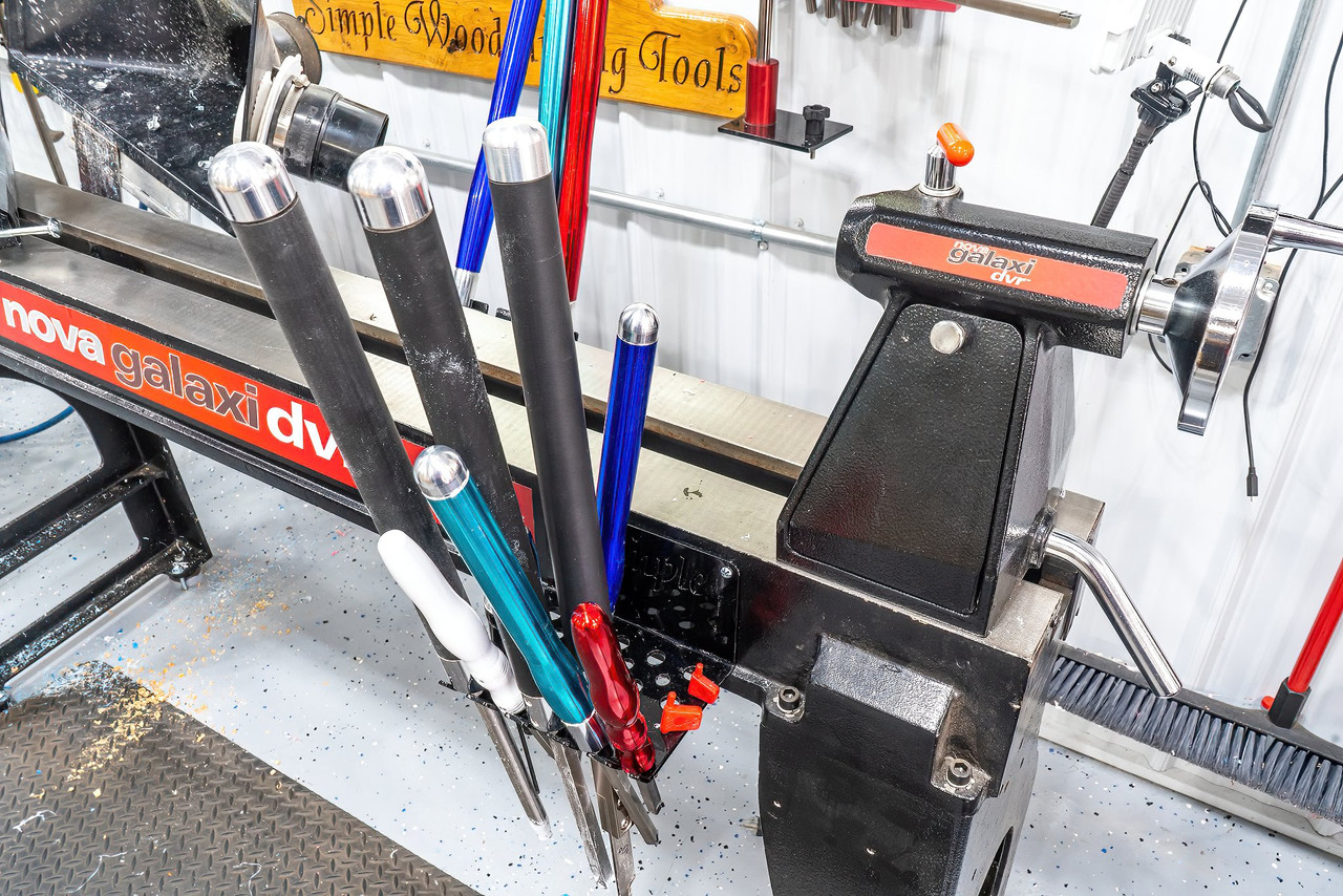 Tool Rack for Simple Hollowing System storage, or any Simple Woodturning Tools