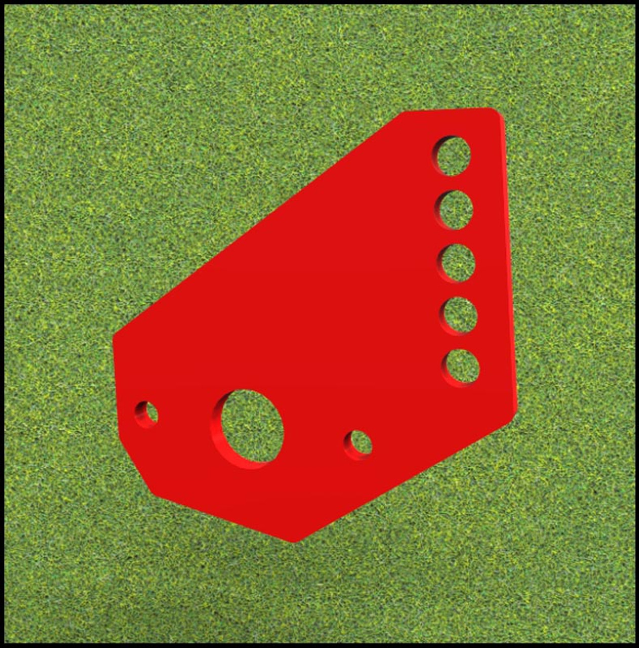 Mounting Bracket for eXmark Ultra Cut, HP and all Toro Turf Stripers