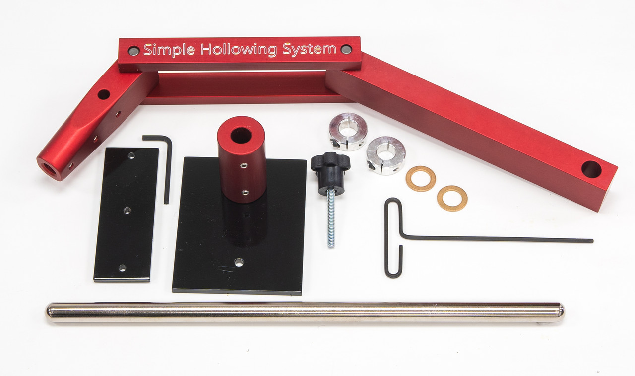 Simple Hollowing System, without laser or tools.