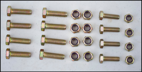 Mounting and Bracket Bolts and Nuts for Toro Turf Stripers