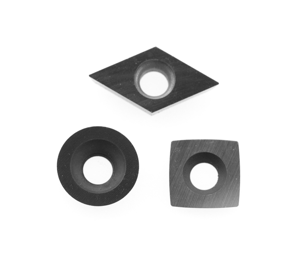 Replacement carbide cutters for simple start woodturning tools