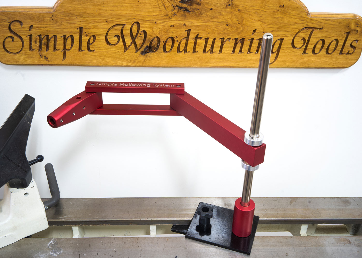 Simple Hollowing System for Wood Lathe
