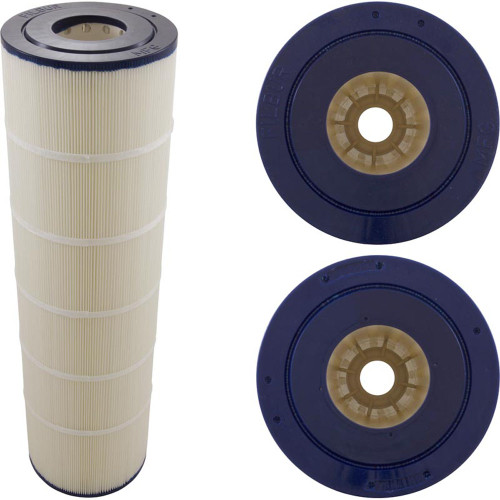 "Cartridge, 106sqft, 3""ot, 3""ob, 7"", 25-1/2"", PB"