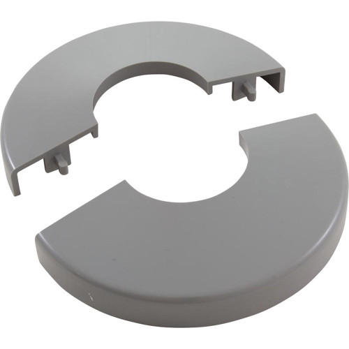 Pool Ladder Escutcheon, Clip On, Gray
