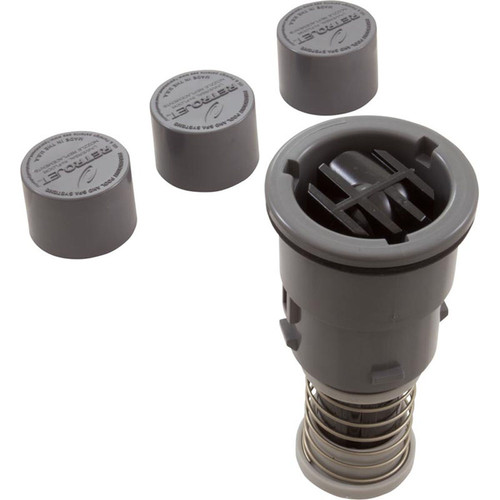 Replacement Nozzle, Paramount Retro A&A Quick Clean 2, Gray