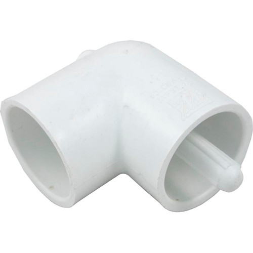 """90 Elbow, 1-1/2"""" Slip x 1-1/2"""" Slip, with Thermowell"""