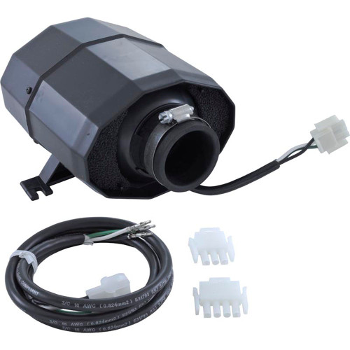 Blower, HydroQuip Silent Aire, 1.0hp, 230v, 2.3A, 3 or 4 pin AMP