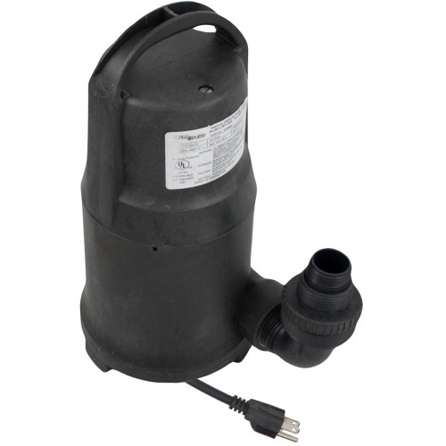 Pump, Submersible, Cal Pump PW5000, 115v, 20ft Cord, OEM