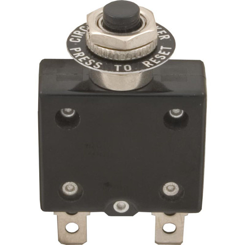 Circuit Breaker, Panel Mount, 15A, 115v