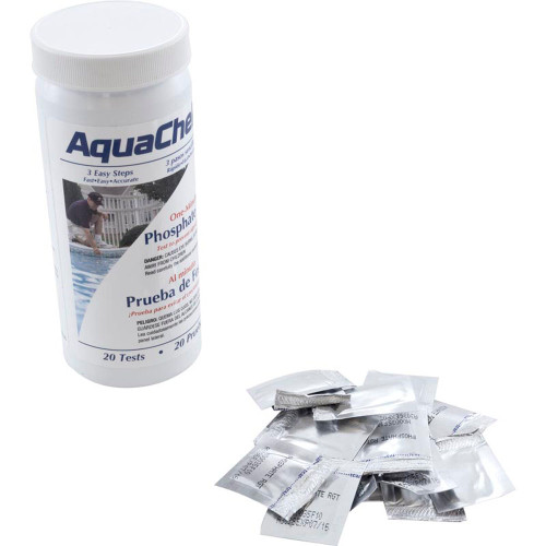 Test Kit, AquaCheck, Phosphate, 20 ct