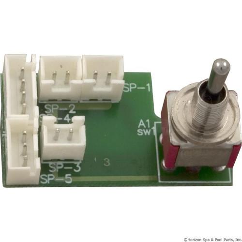 PCB, Pentair Compool CVA-L24 Valve Actuator, with Switch