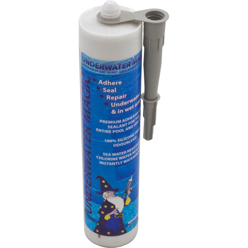 Sealant, Underwater Magic, 290ml/9.8oz Tube, Gray