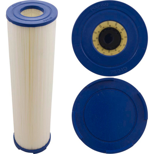 "Cartridge, 40sqft, Castle t, 2-1/16"" ob, 4-5/8"" diameter, 16-3/4"", 3oz"