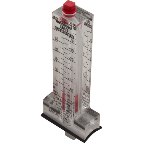 """Flow Meter, Blue-White, F-300, for 1"""" PVC, 5-35 gpm"""