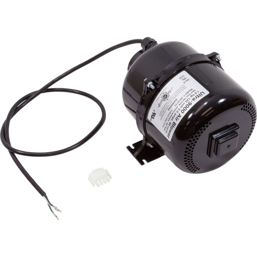 Blower, Air Supply Ultra 9000, 1.0hp, 115v,4.5A, 4ft AMP