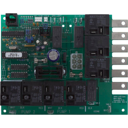 PCB, Spa Builders, LX-15, with Extended Software