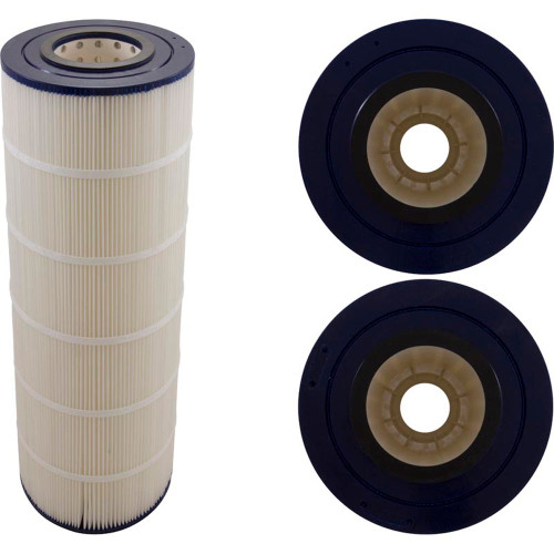 "Cartridge, 100sqft, 4-1/16""ot, 4-1/16""ob, 8-1/2"", 23-3/8"", PB"