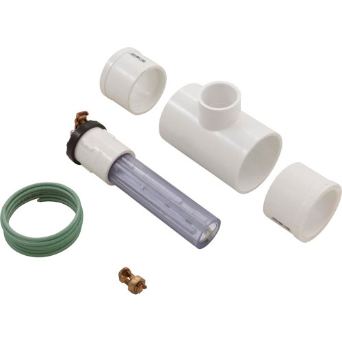 """1"""" OD In-line (Clear) Anode, 1.5""""-2"""" Pipe"""