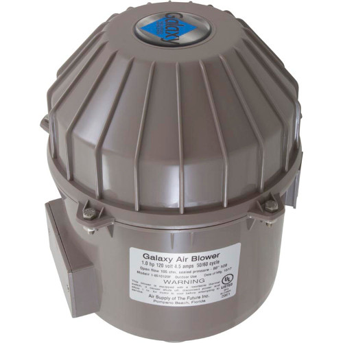 Blower, Air Supply Galaxy Pro, 1.0hp, 115v, 4.5A, Hardwire