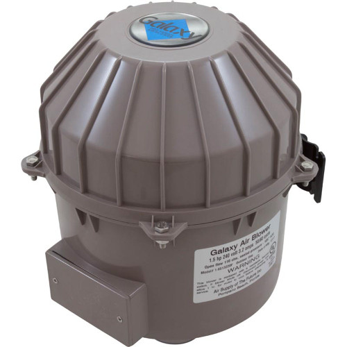 Blower, Air Supply Galaxy Pro, 1.5hp, 230v, 3.2A, Hardwire