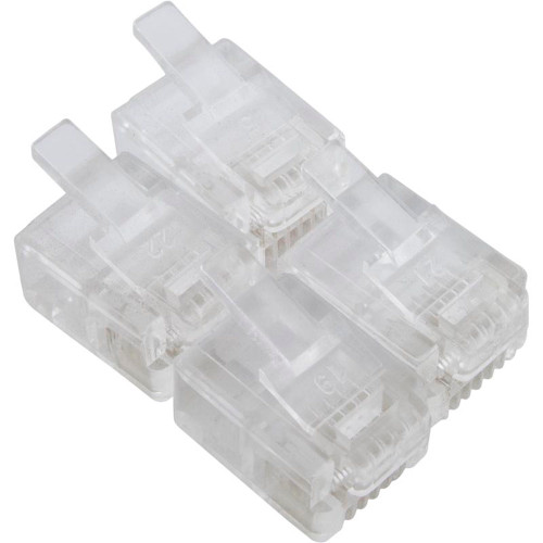 Connectors, Pentair, Compool, 6 Conductor Flat, qty of 4