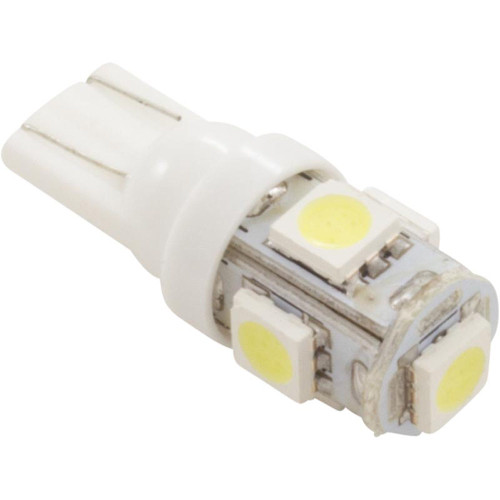 Replacement Bulb, Gecko IN.YJ2, 12vdc, LED, Wedge-T10, White
