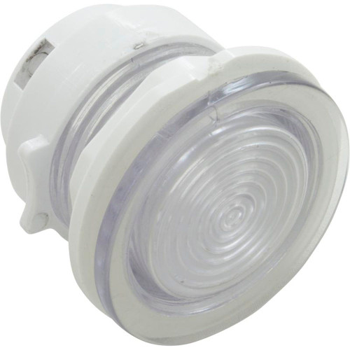 "Light Lens, WW Mini, 2-1/8"" fd, 1-1/2 hs, w/ Nut & Reflector"