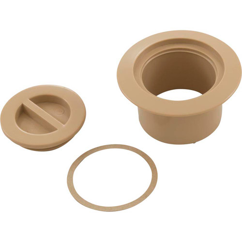 Volleyball Flange And Flush Cap Tan