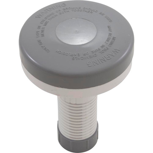 "Floating Spa Chlorinator Gray/White 1"" Tab"