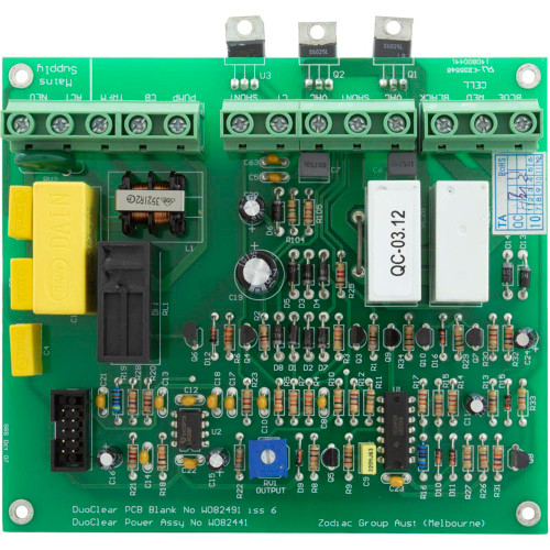 PCB Assembly, Zodiac DuoClear Control