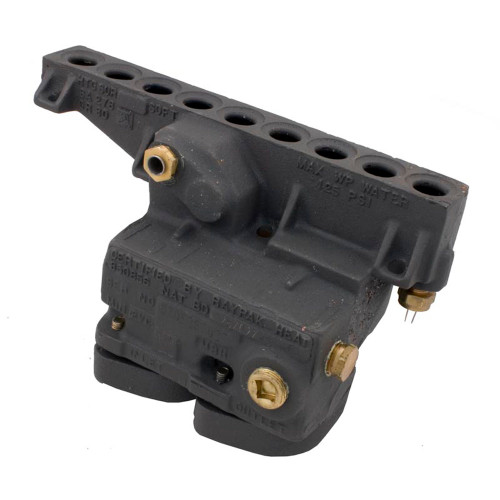 Inlet/Outlet Header, Raypak 185/207A/206A/R185A/R185B, CI