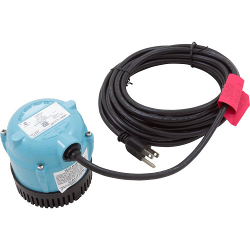 Pump, Submersible, Little Giant, 170 GPH, 70W, 18' Cord