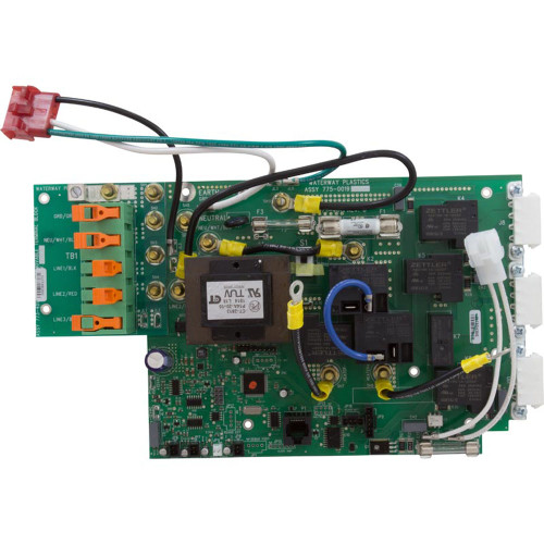 PCB, Waterway NEO 1500, Controller Board Assembly, REV D