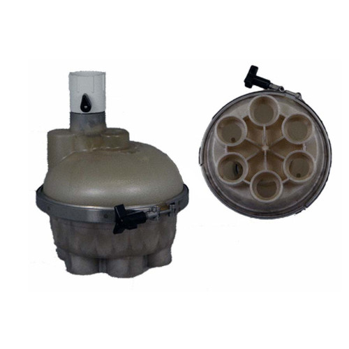 """6 Port, Top Feed, 1 1/2"""" Complete Valve"""