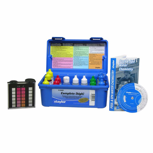 K-2005 Complete High DPD Professional Test Kit